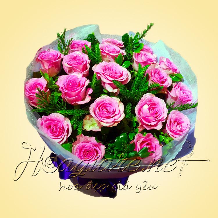 Bó hoa tươi B02