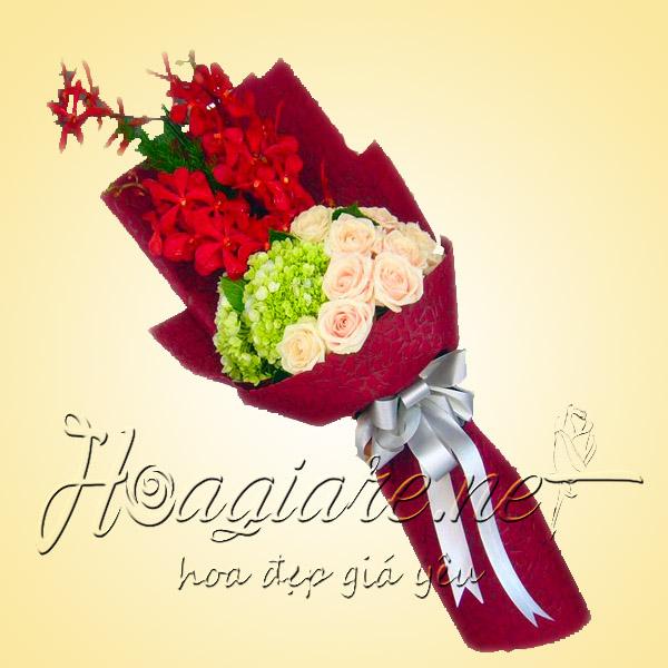 Bó hoa tươi B04