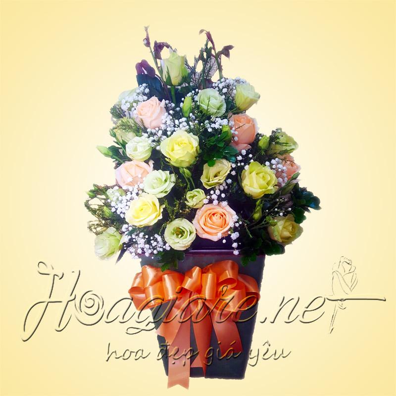 Giỏ hoa tươi G01