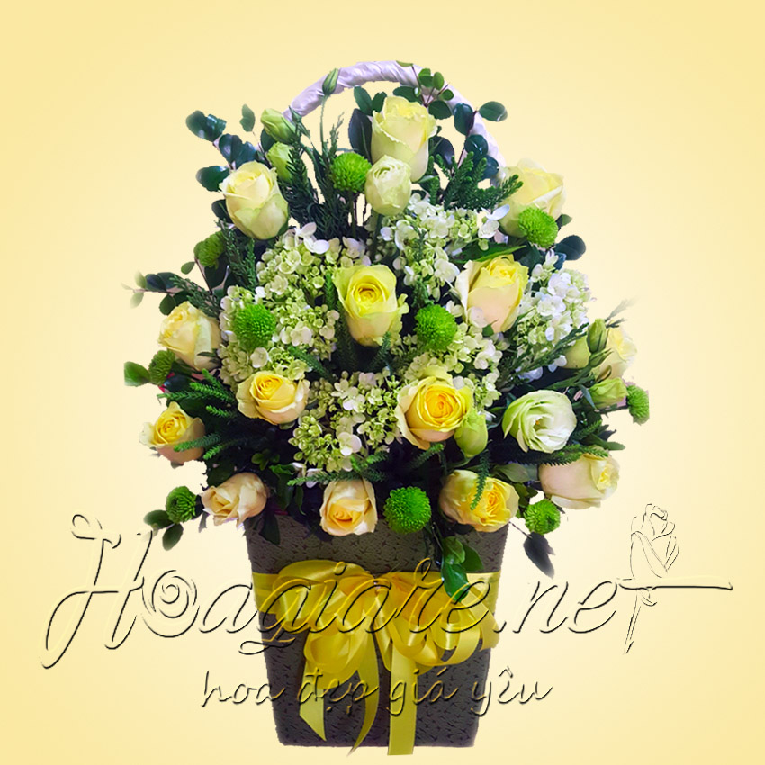 Giỏ hoa tươi G02
