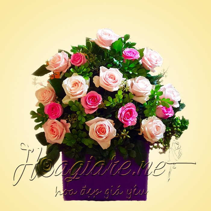 Giỏ hoa tươi G03