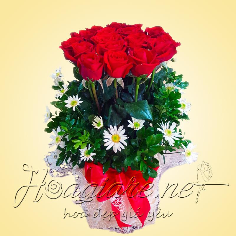 Hoa sinh nhật vợ yêu VY01